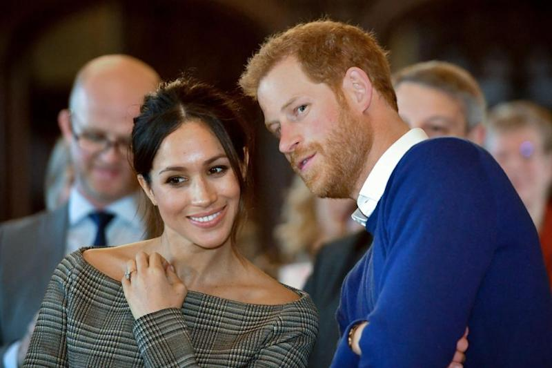Meghan Markle is reportedly whisking Prince Harry away on a luxurious honeymoon. Photo: Getty Images