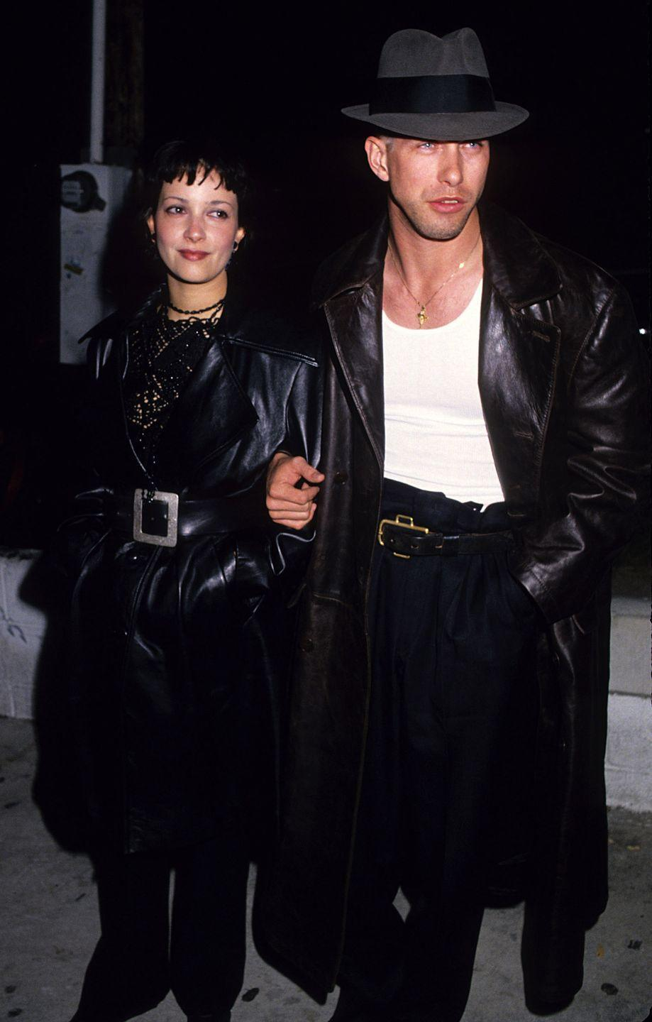 <p>Stephen Baldwin at the Viper Room for AIDS benefit on April 9, 1994.</p>