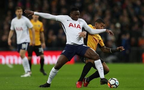 "Mauricio Pochettino may not be prioritising the FA Cup just yet, but the competition seems to be doing its best to help him add a trophy to his Tottenham Hotspur CV. This fourth-round replay victory over League Two Newport County, in which Erik Lamela scored for the first time since September 2016, set up a last-16 trip to League One strugglers Rochdale. The Spotland Stadium pitch may give Pochettino some cause for concern, but, given Spurs beat AFC Wimbledon (19th in League One), in the third round, he can have no complaints over his side's path towards the quarter-finals. Navigate the Rochdale game and a quarter-final tie, and only two 'home' games at Wembley will stand between Pochettino and the trophy that may just convince Real Madrid he really does have all the credentials to take over at the Bernabeu. The FA Cup could also prove to be important for Lamela, who has come through his injury nightmare and now found his touch in front of goal. Spurs are in the ascendancy at Wembley Credit: Reuters ""It's always important to feel the net for offensive players and for him to play 90 minutes,"" said Pochettino. ""He's an important player. ""More than one year out is never easy to come back and perform in the way he was before. But he is doing so because he loves football and loves to train. I think his mentality is fantastic. He will recover to his real level and more, to a new level. In tough moments you learn a lot."" Lamela should really have finished with more than one goal and Tottenham, for whom Fernando Llorente missed a couple of sitters, should have won by a greater margin. Asked about Llorente, Pochettino sarcastically replied: ""Yes, I am so worried. It was a great opportunity for him to score, he missed, he had the chance to score but we are 24 players and it will be tough for anyone to find a place in the starting 11."" Pochettino made 10 changes from the team that had drawn at Liverpool, with only Heung-Min Son being asked to play a second game in four days. The South Korean was still Tottenham's best and most energetic player. FA Cup fifth-round draw Toby Alderwiereld returned from injury to start his first game since the Champions League victory over Real Madrid at the start of November, while Harry Winks and Danny Rose also came back in. But it was Newport, in front of nearly 8,000 travelling fans, who made the brighter start and caused Spurs enough problems that Pochettino sent a few water bottles flying. Victor Wanyama was booked for bringing down Newport captain Joss Labadie after being played into trouble by Juan Foyth, before Robbie Willmott picked out Padraig Amond in the Tottenham area but the striker was flagged offside. As Tottenham started to find their rhythm and Lamela buzzed around the Newport defence in the number 10 position, Rose should have opened the scoring for the hosts in the 23rd minute. Son played the ball across for Moussa Sissoko on the right and his deflected cross dropped perfectly into the path of Rose, but the left-back volleyed into the side netting, Dele Alli was given a run-out by Mauricio Pochettino Credit: Reuters Tottenham, though, only had to wait three more minutes to take the lead thanks to an unfortunate own goal from Dan Butler. Llorente found Sissoko and this time the midfielder's low cross hit the heels of Butler and wrong-footed Newport goalkeeper Joe Day. From that moment on, there was only going to be one outcome and both Lamela and Son threatened the visitors' goal before Lamela doubled Tottenham's advantage. Son was the provider as he threaded a perfect pass through to Lamela, who took a touch before finishing expertly past Day. Pochettino's team were threatening to run riot as they passed their way around Newport time and again, but Wanyama still needed to produce a superb challenge to prevent Labadie having a clear shot on goal from Frank Nouble's pass. Harry Kane sat out this replay on the substitutes' bench, no doubt with Saturday's North London derby in mind. But the striker can be sure he will be back in the FA Cup at some stage after Llorente fluffed his chance to make an impression. As the second half wore on, Lamela started to dip into his bag of tricks, rolling his foot over the ball and swaying from side to side as Newport defenders tried to tackle him. The best players in the Premier League in January 2018 It was the former Roma forward who set-up Llorente to miss a sitter, as the striker somehow failed to find the net with his head from six yards with no defenders to be seen. The Spaniard also dragged a volley wide from a superb Christian Eriksen pass. In between those two chances, Pochettino had sent on Dele Alli for the final 12 minutes and the England international's introduction was loudly booed by the Newport supporters, who presumably object to his nationality and the fact he has been labelled a diver. The Newport fans cheered wildly, when Alli clipped the top of the crossbar after being sent through by Eriksen and had a volley stopped by Day. They were almost given a Wembley goal to celebrate right at the end but Amond's shot was saved by Michel Vorm. ""I'm not happy, we just lost a game of football, but I'm very proud of the effort and work-rate,"" said Newport manager Michael Flynn. ""I know they missed a few chances, but we kept going and should have scored. ""I'm hoping this cup run brings back a generation of fans because we lost them when we went out of business."" 9:41PM FT Spurs 2 Newport 0 Everyone is happy with that*. Spurs keep an avenue to silverware open and are through to the FA Cup fifth-round. Newport were not embarrassed and will go back down the M4 with all the credit in the world. *Everyone expect those damn neutrals who wanted either an upset or a 10-0 Spurs win. 9:38PM 90 minutes+ 2 Huge roar from the Newport fans- their team have a corner. McCoulsky's shot was blocked by Walker-Peters, no Wembley goal for Newport. OR IS THERE?! What a chance for Amond in the next phase of play, only had Vorm to beat from a tight-ish angle but shot straight at him. 9:35PM 89 minutes Sissoko volleys a shot straight up in the air, and the ball almost drops down and hits him on the head. Even the Spurs revelled in mocking him for that. Three minutes added time. 9:32PM 87 minutes Fine save by Day again. This time Aurier danced down the right and picked out Alli at the back post. Brings it down on his chest and volleys low towards the near post. Then a lovely piece of skill in the next phase of play draws an 'ooohhh' from the crowd. 9:30PM 85 minutes Another Tottenham substitution: Kyle Walker-Peters replaces Danny Rose. 9:28PM 83 minutes Dele Alli has had better weeks. Clean through on goal, he takes a slightly heavy touch. No matter, he is quick enough to recover and have the chance to lift the ball over Day. Gets too much on the effort however, and hits the top of the bar. Another chance missed. 9:26PM 81 minutes Eriksen busy again, he goes from the far corner from an improbable angle but Day scrambles across his goal to tip it wide. 9:24PM 79 minutes Another shocking miss by Llorente. It was on the volley, but from the corner of the six-yard box unmarked he should have hit the target. Delicious dinked ball over the top from Eriksen, reminiscent of the two crosses he picked Dele Alli out with against Chelsea last season. 9:22PM 77 minutes O'Brien on for Newport, who scored the goal to keep them in the Football League last season. Victor Wanyama is taken off by Mauricio Pochettino and Dele Alli gets a run out. 9:21PM 75 minutes Spurs stroking the ball around at will, and Lamela injects some tempo into the attack with a lovely chipped cross straight onto the head of Llorente. All on his own on the corner of the six yard box he misses the target completely. 9:17PM 72 minutes Vorm came and punched clear after the free-kick was initially headed clear. Eriksen starts a well-worked SPurs counter but Sissoko cannot wrap his foot around his volley at the back post. 9:16PM 71 minutes Newport sticking to their task admirably, and Foyth rashly takes out Labadie near the corner flag. Newport free-kick in a dangerous position. 9:14PM Cliff Jones presented with his birthday cake Credit: Getty Images 9:13PM 68 minutes Sweeping move by Spurs - Lamela feeds Rose on the overlap whose well-placed pull-back finds Eriksen but the Dane shoots wide of the near post. 9:12PM 67 minutes Pipe fouls Eriksen with bit of a lunge, but he pulled his studs out of the tackle to ensure no harm was done. That's the Newport right-backs last act of the match - he has a hamstring problem. Striker McCoulsky replaces him. 9:10PM 65 minutes A great chance for Lamela to add his second, but full credit to Day who spread himself to block his shot on the stretch. 9:09PM 63 minutes A brief flurry of Newport attacks, but Alderweireld clears his lines. Not sure why Pochettino feels the need to risk Eriksen - not that there has been a tackle to speak of tonight. 9:06PM 60 minutes A rather theatrical tumble from Danny Rose but he wins a free-kick for Spurs near the left-corner. Llorente again goes close to getting on the scoresheet but he cannot quite get his toe to Lamela's pass. As expected, Son is hooked. But slightly surprisingly, Christian Eriksen replaces him. 9:03PM 58 minutes Newport are stretched and starting to tire. Good overlap by Aurier but Llorente is a bit on his heels and cannot quite get to his cut-back. Dolan on for Newport as a substitute. 9:00PM 55 minutes Harry Kane is sat on the bench with his feet up - absolutely no need for for Spurs to utilise his talents tonight. 8:57PM 52 minutes Foyth mis-judges a bouncing ball but the ball strikes Amond on the arm and the Newport man is penalised. Lamela is running the show for Tottenham now, everything is going through him. 8:56PM 50 minutes Spurs play some keep-ball but the move breaks down on the edge of the area with a loose Danny Rose flick. Day gets away with a scuffed clearance and Newport survive. 8:54PM 48 minutes We're back under way at the start of the second half. Now a question of how many goals Spurs will bag and how many minutes Pochettino wants to give to his first-teamers. 8:39PM Erik Lamela's goal was warmly received Back in the groove... Credit: AP 8:38PM Spurs are on easy street Tottenham 2-0 Newport County HT: Catch all the reaction and analysis live on BT Sport 2 HD as Mauricio Pochettino's side look set to secure their FA Cup fifth round place. pic.twitter.com/MGR0kTPrts— Football on BT Sport (@btsportfootball) February 7, 2018 8:35PM Half time: Spurs 2 Newport 0 Newport were commendable for the opening 25 minutes, but since Dan Butler's moment of misfortune this has been a foregone conclusion. 8:34PM 45 minutes Nouble hits the deck with a scream after Aurier's studs catch him on the top of the foot. Not a lot in that, and a ridiculous stoppage while VAR was consulted. Absoluteley no need for it. 8:30PM 44 minutes Back on his feet after sitting on the ball at the other end, Wanyama goes for another Kop End special but skews this one closer to the corner flag than the top corner. 8:29PM 42 minutes There was a penalty appeal for handball against Wanyama, but no sign of VAR in action that time. Rightly so as well, the ball went nowhere near his arm. It came from Nouble getting away again down the left. 8:28PM 40 minutes Llorente has had a rather drastic haircut recently, almost unrecognisable. Tottenham enjoying themselves now and the second-half could be a long old 45 minutes for Newport, 8:26PM 38 minutes Son dribbles down the left again and very nearly finds Llorente with a low cross. Surely Pochettino will consider taking him off soon with Arsenal in mind? Son looks a certainty to start the derby. 8:23PM Lamela's first goal of the season after 13 months out 34 - @ErikLamela collects from Sonny in the area and slots past Day to grab his first goal of the season! ⚪️ #THFC 2-0 #NCAFC ��— Tottenham Hotspur (@SpursOfficial) February 7, 2018 8:21PM Makes it look easy Son at the heart of things again, dribbles into the Newport box and finds Lamela with an outside of the foot pass. He takes it in his stride and pokes past Day. Tottenham in complete control now. 8:20PM GOAL! 2-0 Spurs Erik Lamela with his first FA Cup goal. 8:19PM 32 minutes Lovely interplay from Spurs again. Llorente finds Son with a flick around the corner, but his shot flies wide of Day's near-post. He was trying to give him the eyes. 8:18PM 30 minutes Double save by Day as Spurs move through the gears. Lamela catches a volley from outside the box as sweet as a nut and the goalkeeper parries. The Son pounces on the rebound and drives towards the bar-line. Goes for power at Day's near-post but he stands his ground. 8:15PM First use of VAR Danny Rose throws himself to the ground in the Newport penalty area. Referee Stuart Attwell stopped the game once the ball had gone for a throw-in to consult the video assistant referee - nothing doing. Play on. 8:13PM Very unlucky, but Spurs will not care Aurier down the right swung in a harmless looking cross, but in his attempt to clear at the near post Butler shinned the ball past his own goalkeeper. 8:12PM GOAL! 1-0 Spurs Own goal by Newport's Dan Butler. 8:11PM 24 minutes More promising stuff from Spurs as Aurier stands up a cross to the back post. Llorente nods it back across the six-yard line but Lamela is penalised for dangerous play as an attempted overhead kick catches fresh air. 8:09PM 22 minutes First Tottenham chance of the game. Son drove at Newport's defence, some were asking him to shoot but he fed Sissoko in the right channel. Slightly off balance he scooped a ball high to the back post that was met by Rose. He rather stabbed at the shot and it hit the side-netting. 8:08PM 21 minutes Newport are trying to hit the channels early into the space behind Tottenham's full-backs. Nouble in particular is staying high and letting Aurier go forward - he is Newport's main outlet thus far. 8:06PM 18 minutes Demetriou heads away Lamela's teasing delivery from a wide free-kick. Former West Ham (and about 20 other clubs) forward Nouble has the chance to lead a counter attack but Aurier stops him in his tracks with a well-times sliding challenge. Winks is down holding his ankle which is a concern...but he is back on. 8:04PM 16 minutes Danny Rose gets the start tonight, which surely means Ben Davies will get the nod against Arsenal given the way Pochettino likes to rotate his full backs. Appeal for a foul on Sissoko but the defender got a clean foot on the ball. Son follows up and Spurs have a corner. It flies over every one and Newport re-group. 8:02PM 14 minutes Not much is working for Tottenham so far, and their fans are sat waiting for something to warm them up. Wembley can be great on certain occasions, but when things are flat it feels awfully sterile. White looks for Wilmott over the top but it bounces through to Vorm. 8:00PM Newport fans They're excited... pic.twitter.com/Gnl13yDABB— Jake Humphrey (@mrjakehumphrey) February 7, 2018 7:59PM Wanyama booked Credit: Reuters 7:58PM 11 minutes Golly gosh, that was a chance for Newport. Cross swung in from the right-flank but Amond got under his header from six yards out. Perhaps not the opportunity we first thought however, the flag was up for offside. 7:56PM Nine minutes Free-kick by Wilmott was straight into the wall. For the first time in the game, Tottenham build some concerted pressure in Newport's half. 7,500 Newport fans have made the trip to Wembley on a bitterly cold night. 7:54PM Six minutes Ian Darke bemoans that fact Victor Wanyama's Anfield screamer was forgotten amid the refereeing controversy, perhaps forgetting himself the role broadcasters like BT Sport play in perpetuating that. Foyth tries to roll the ball into Wanyama in his own half, but Labadie was there first and Wanyama mis-times his attempted tackle. Yellow card and a Newport free-kick 30 yards out. 7:51PM Four minutes Amond put Vorm under intense pressure, who took a risk by allowing the ball to run across his six-yard box. High energy stuff from the Welsh side but for how long can they maintain the pace? 7:50PM Two minutes Positive approach so far from Flynn's men who are trying their best to close Tottenham down. Labadie's hustling was a feature of the first game and he has picked up from where he left off at Rodney Parade. The Newport man also tucks his shirt into his shorts which is nice and retro. Son cuts in from the left flank but blasts over the bar. 7:47PM Kick-off! We're off, and it is Newport who get us under way. How long can they keep this tie alive for? 7:45PM The player have made their way out Not a bad crowd in tonight, though Wembley's top tier is redundant. 7:39PM Newport lose a player to the tattoo industry No Sean Rigg for Newport tonight, who has packed in football to become a tattoo artist. 7:38PM Houston we have a problem Mauricio Pochettino points out that nine of Tottenham's team featured in the Champions League group stages. ""If that is not enough to win us this game,"" says Pochettino, ""Then Houston we have a problem."" 7:26PM The story of Newport's cup run 7:24PM How Mike Flynn's band of misfits put Newport back on track Read James Corrigan on Newport's 'band of misfits' who are bringing some joy to an area that was once one of the most deprived areas of Wales. 7:20PM Double injury boost for Spurs Spurs fans will be delighted to see Harry Winks and Toby Alderweireld back. Winks improves the technical level of Tottenham's midfield and takes some of the weight off Christian Eriksen's shoulders to to get things ticking. Alderweireld is probably the best centre-back in the Premier League and can get some minutes in the bank before Arsenal visit on Saturday. 6:47PM Here is the fifth-round draw as things stand FA Cup fifth round draw 6:47PM Newport County team TEAM NEWS