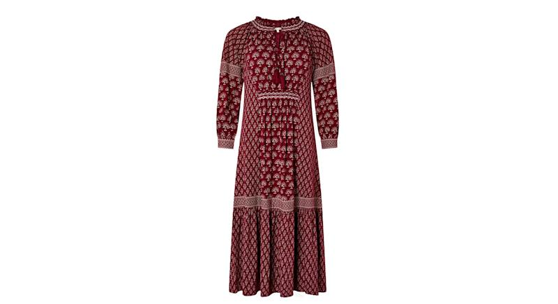 Monsoon Heshna Abstract Midi Dress