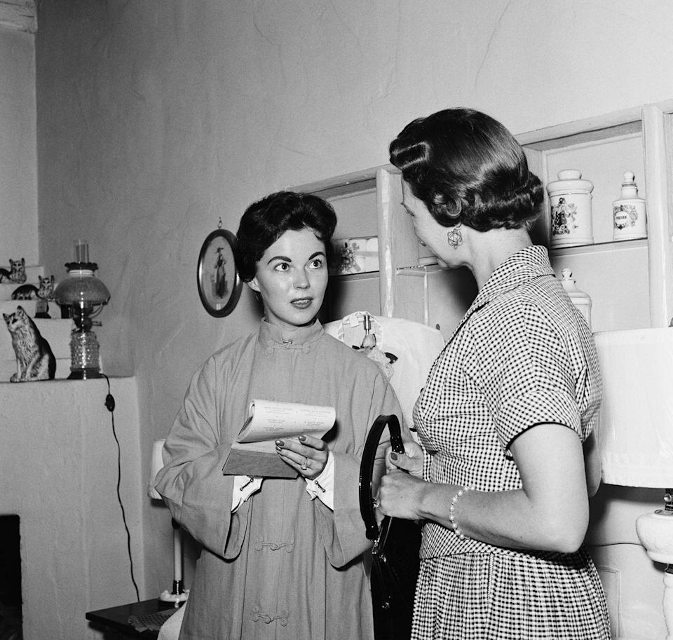 <p>Shirley offered her time and services as a volunteer at the Allied Arts Guild to raise money for the Stanford Home for Convalescent Children. </p>
