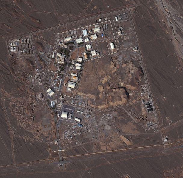 PHOTO: This is a satellite image of the uranium enrichment facility in Natanz, Iran, dated Jan. 7, 2013. (DigitalGlobe via Getty Images, FILE)