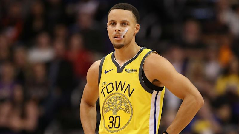 Warriors star Stephen Curry rested for Mavericks game