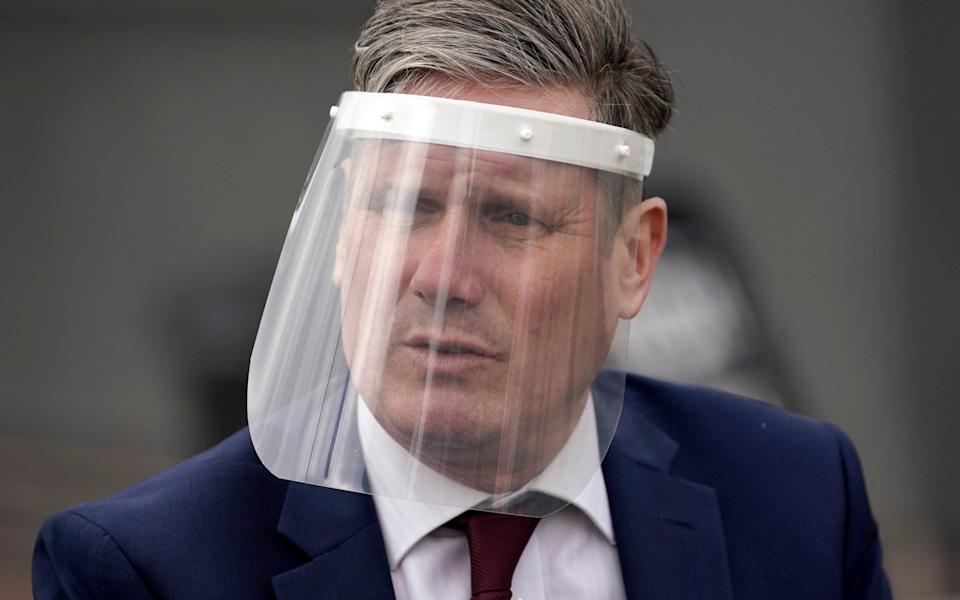 Labour Party leader Sir Keir Starmer met with Professor Chris Whitty, the Chief Medical Officer, on Sunday - Christopher Furlong/Getty Images Europe
