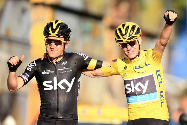 Neither Chris Froome, right, or Geraint Thomas, left, will start this year's Tour