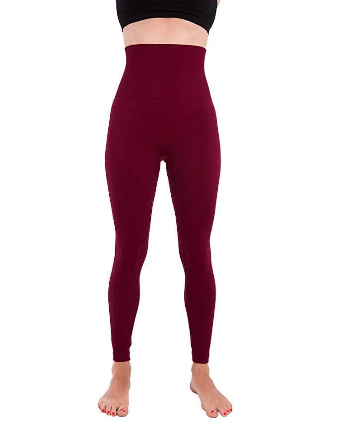 <p>With this ultrahigh waist, you know we've got to get our hands on these <span>Homma Premium Thick High Waist Tummy Compression Slimming Leggings</span> ($20, originally $35). Plus, they're flattering while still being comfortable.</p>