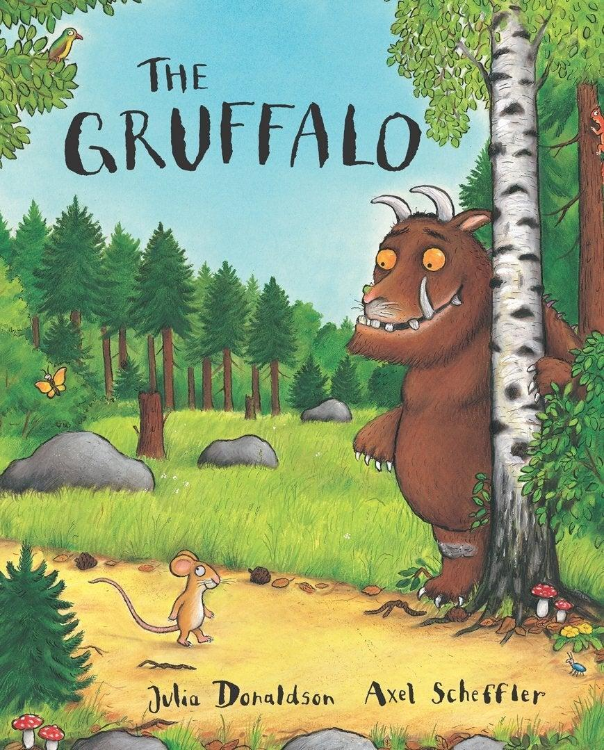'The Gruffalo' in 1999 wasn't just another warm family story with a lovey-dovey message – this was an adventure story that rhymed (Macmillan)