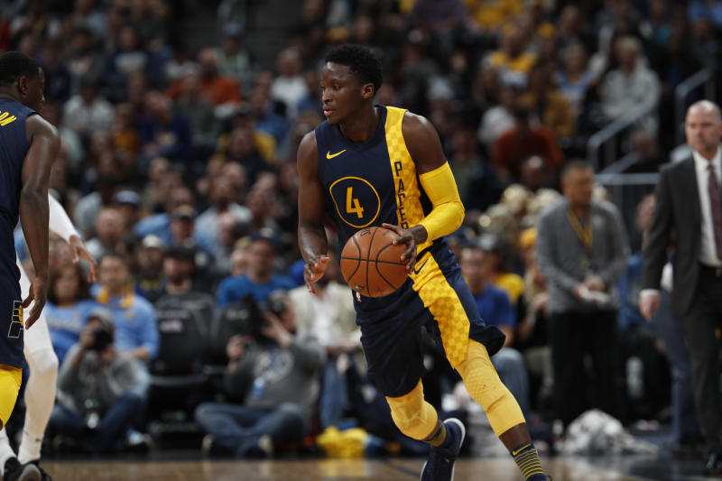 Victor Oladipo is the engine of the surprising Pacers' offensive attack. If the Cavs force the ball out of his hands, what does Indiana have in response? (AP)