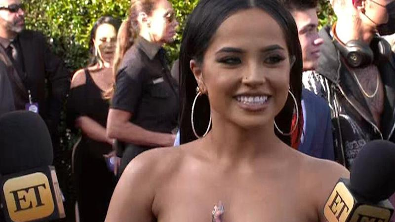 The 22-year-old singer spoke with ET at the 2019 Latin AMAs on Thursday.