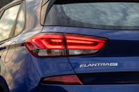 """<p>At first glance, it might seem that the new 2019 Hyundai Elantra GT N Line is merely an appearance package that imitates the brand's N performance models, but it actually replaces <a href=""""https://www.caranddriver.com/hyundai/elantra-gt-sport"""" rel=""""nofollow noopener"""" target=""""_blank"""" data-ylk=""""slk:the existing Elantra GT Sport"""" class=""""link rapid-noclick-resp"""">the existing Elantra GT Sport</a> in the Elantra lineup as the hottest version of Hyundai's Europe-derived hatchback (known as the i30 overseas) that is available to us Americans. While that GT Sport model looked nearly identical to <a href=""""https://www.caranddriver.com/hyundai/elantra-gt"""" rel=""""nofollow noopener"""" target=""""_blank"""" data-ylk=""""slk:the regular non-turbo Elantra GT"""" class=""""link rapid-noclick-resp"""">the regular non-turbo Elantra GT</a>, the new N Line trim does bring more aggressive body styling that is taken from <a href=""""https://www.caranddriver.com/reviews/2018-hyundai-i30-n-first-drive-review"""" rel=""""nofollow noopener"""" target=""""_blank"""" data-ylk=""""slk:the Euro-only i30 N hot hatch"""" class=""""link rapid-noclick-resp"""">the Euro-only i30 N hot hatch</a>-and it brings real performance modifications, too.</p>"""