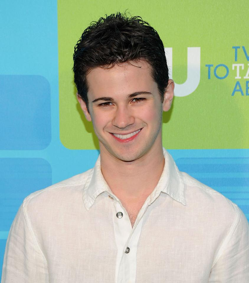 """<a href=""""/connor-paolo/contributor/1140542"""">Connor Paolo</a> (""""<a href=""""/gossip-girl/show/40313"""">Gossip Girl</a>"""") attends the 2010 The CW Upfront at Madison Square Garden on May 20, 2010 in New York City."""