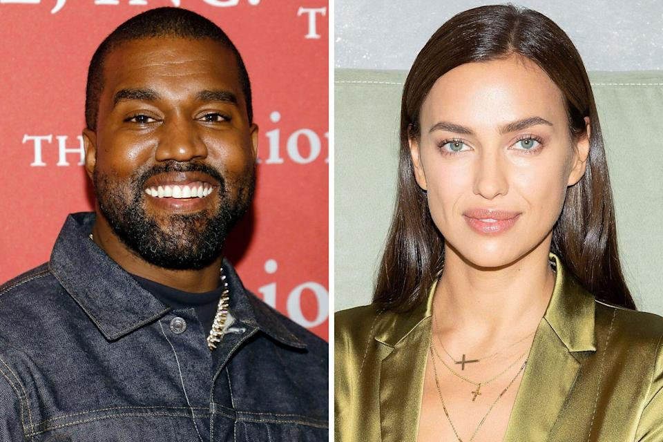 Kanye West and Irina Shayk Were Spotted in France Together