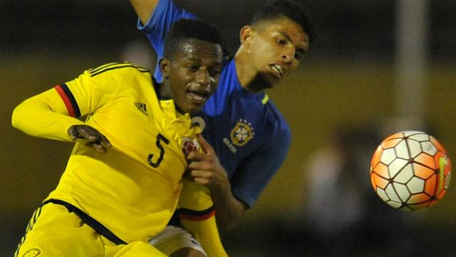 The teenage defender, who has previously spent time on loan at Mallorca and Gent, has been catching the eye while on international duty with Colombia