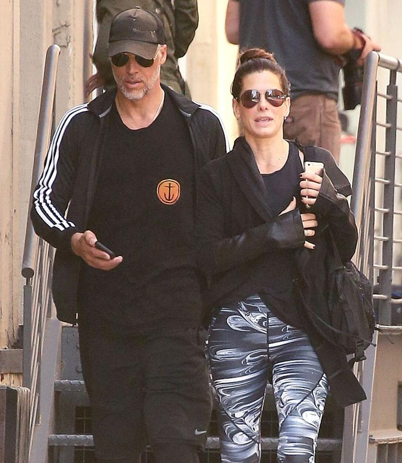 Sandra bullock dating now