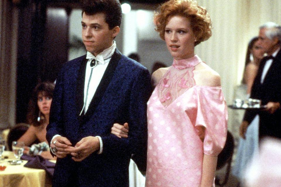 Jon Cryer and Molly Ringwald in 'Pretty in Pink' (Paramount)
