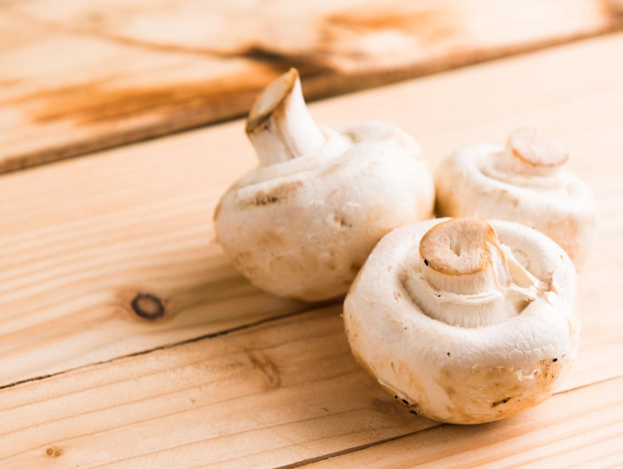"""<p>Mushrooms are not only delicious and versatile but they're also gentle on the planet. Production does not require as much water or energy vs. many other produce choices. In fact, only <a href=""""https://www.mushroomcouncil.com/wp-content/uploads/2017/12/Mushroom-Sustainability-Story-2017.pdf"""" target=""""_blank"""" class=""""ga-track"""" data-ga-category=""""Related"""" data-ga-label=""""https://www.mushroomcouncil.com/wp-content/uploads/2017/12/Mushroom-Sustainability-Story-2017.pdf"""" data-ga-action=""""In-Line Links"""">1.8 gallons of water and 1.0 kilowatt hours of energy are required to grow one pound of mushrooms</a>. Relatively speaking, that's very conservative. Additionally, it generates only .7 pounds of CO2 equivalent emissions – again, a relatively conservative number.</p> <p>Another earth-friendly feature of mushrooms? One million pounds of mushrooms can be produced on just one acre. That's a great yield when focusing on conservation.</p> <p>Eating more mushrooms is as simple as chopping them to match the consistency of ground beef and adding them to tomato sauce for a mushroom """"bolognaise,"""" dehydrating them and eating them as jerky, or adding them to a sandwich for a meaty alternative to beef.</p>"""