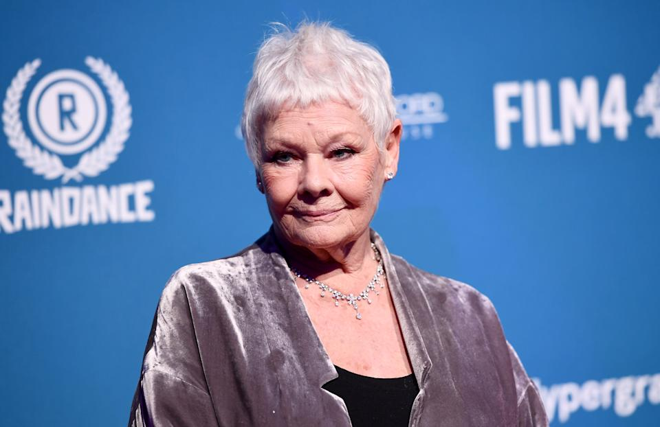 Dame Judi Dench attends the 21st British Independent Film Awards at Old Billingsgate on December 02, 2018 in London, England. (Photo by Jeff Spicer/Getty Images)