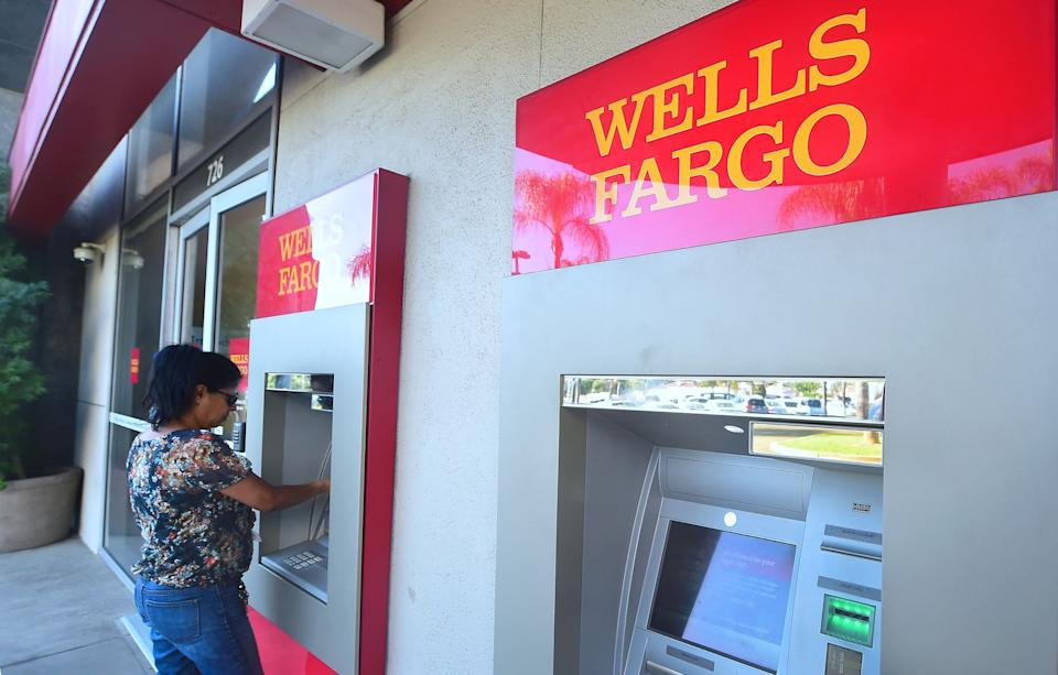 You can use your debit card to withdraw money from your bank account. (Photo: FREDERIC J BROWN/AFP via Getty Images)
