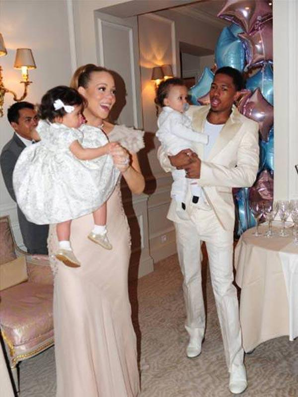 Mariah Carey & Nick Cannon Throw First Birthday Party For Twins