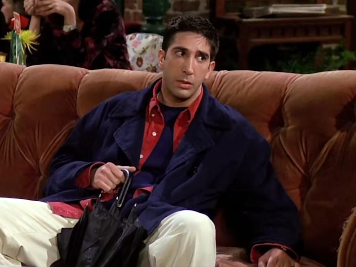 Many of Ross's outfits were sloppy.
