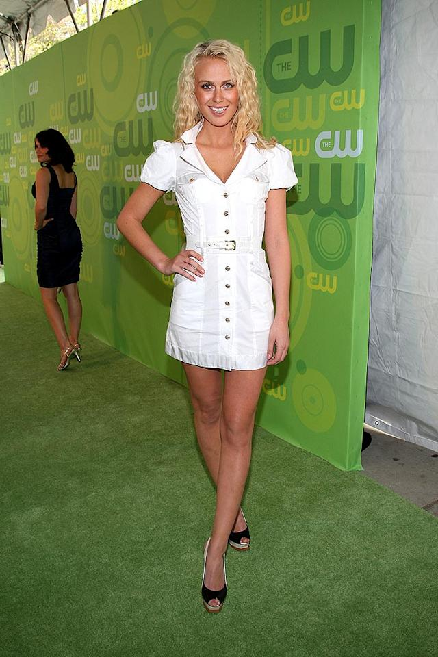 "Is that ""Top Model"" Cycle 7 winner CariDee English or the CW's resident nurse? Jason Kempin/<a href=""http://www.wireimage.com"" target=""new"">WireImage.com</a> - May 13, 2008"