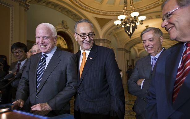 Senate Immigration Reform Supporters Push Lobbyists to Target House GOP