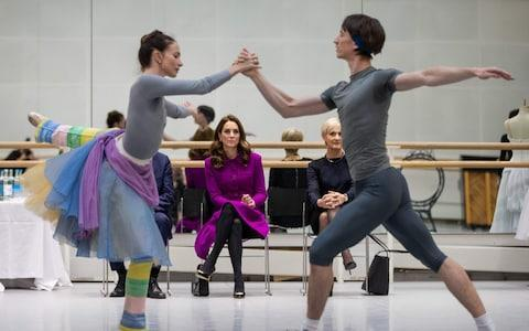 """Princess Charlotte has developed an interest in ballet after being given a """"little introduction"""" by a member of the Royal Opera House, the Duchess of Cambridge has disclosed."""