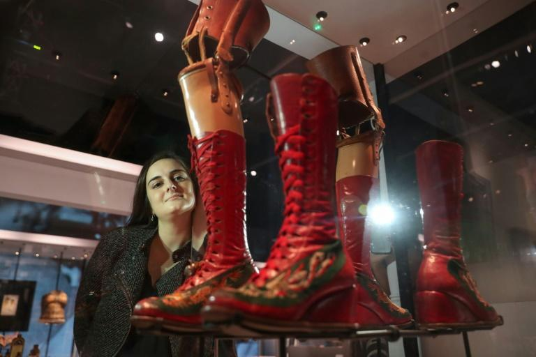 Frida Kahlo, whose leg was amputated a year before her death, even turned her prosthesis into a work of art