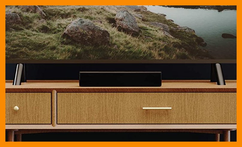 Let's all go to the movies—at home. This soundbar gives everyone the best seat in the house. (Photo: Amazon)