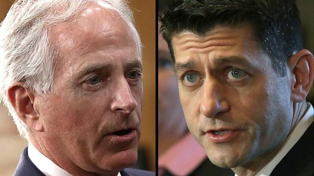 GOP senator criticizes Paul Ryan's warning to Republicans on health care reform (ABC News)