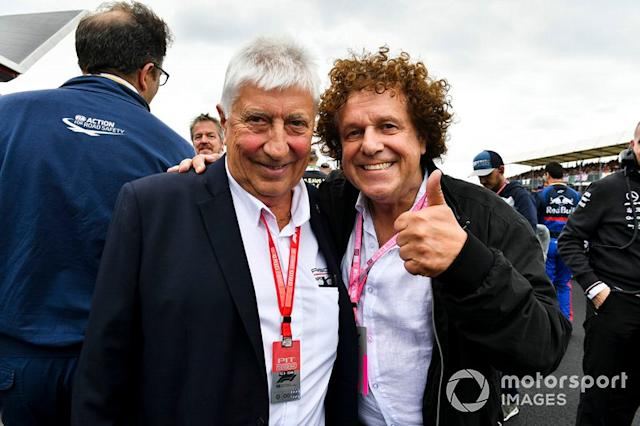 "Herbie Blash y Leo Sayer <span class=""copyright"">Mark Sutton / Motorsport Images</span>"