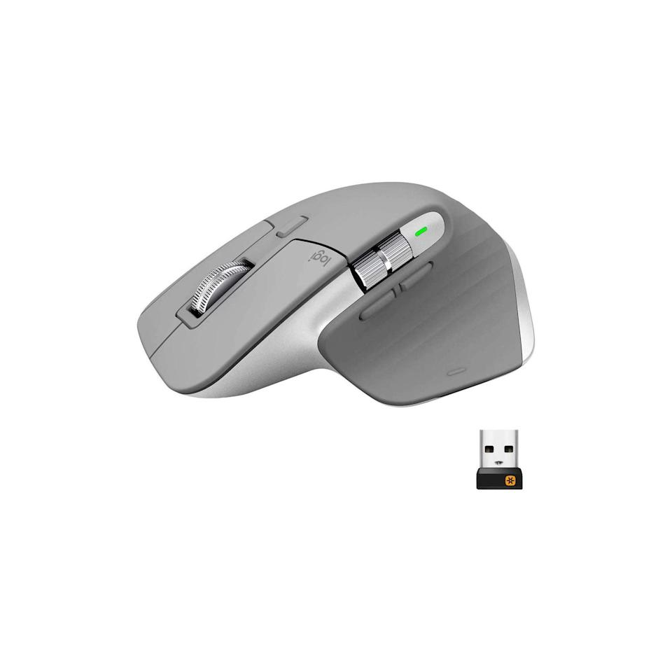 "Looking for a stocking stuffer for the boyfriend who qualifies as a workaholic? Save your man from a sticky trackpad and cramped hands with this fancy wireless mouse that will change his work-from-home situation for the better. $100, Amazon. <a href=""https://www.amazon.com/dp/B07S395RWD?th=1"" rel=""nofollow noopener"" target=""_blank"" data-ylk=""slk:Get it now!"" class=""link rapid-noclick-resp"">Get it now!</a>"