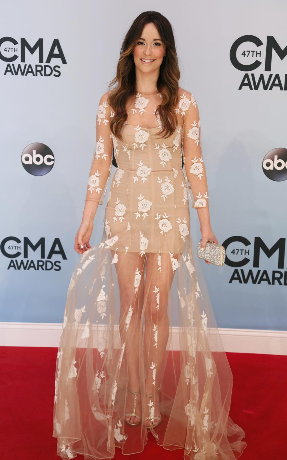 Singer Kacey Musgraves arrives at the 47th Country Music Association Awards in Nashville, Tennessee November 6, 2013. REUTERS/Eric Henderson (UNITED STATES - Tags: ENTERTAINMENT)