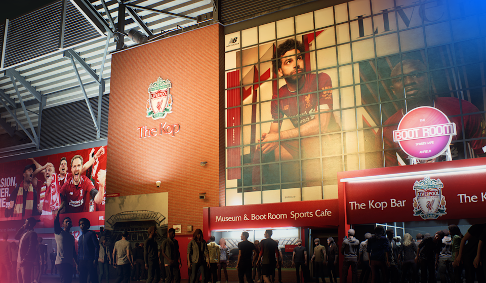 Anfield in 'FIFA 21'