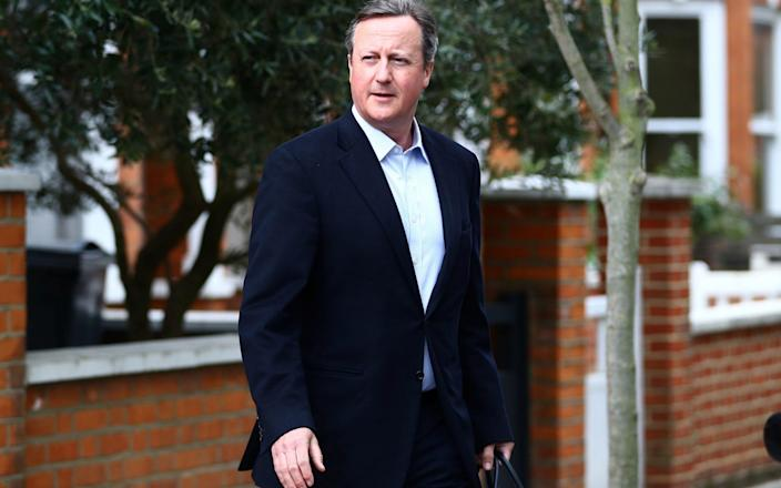 David Cameron will appear from 2:30 - Reuters
