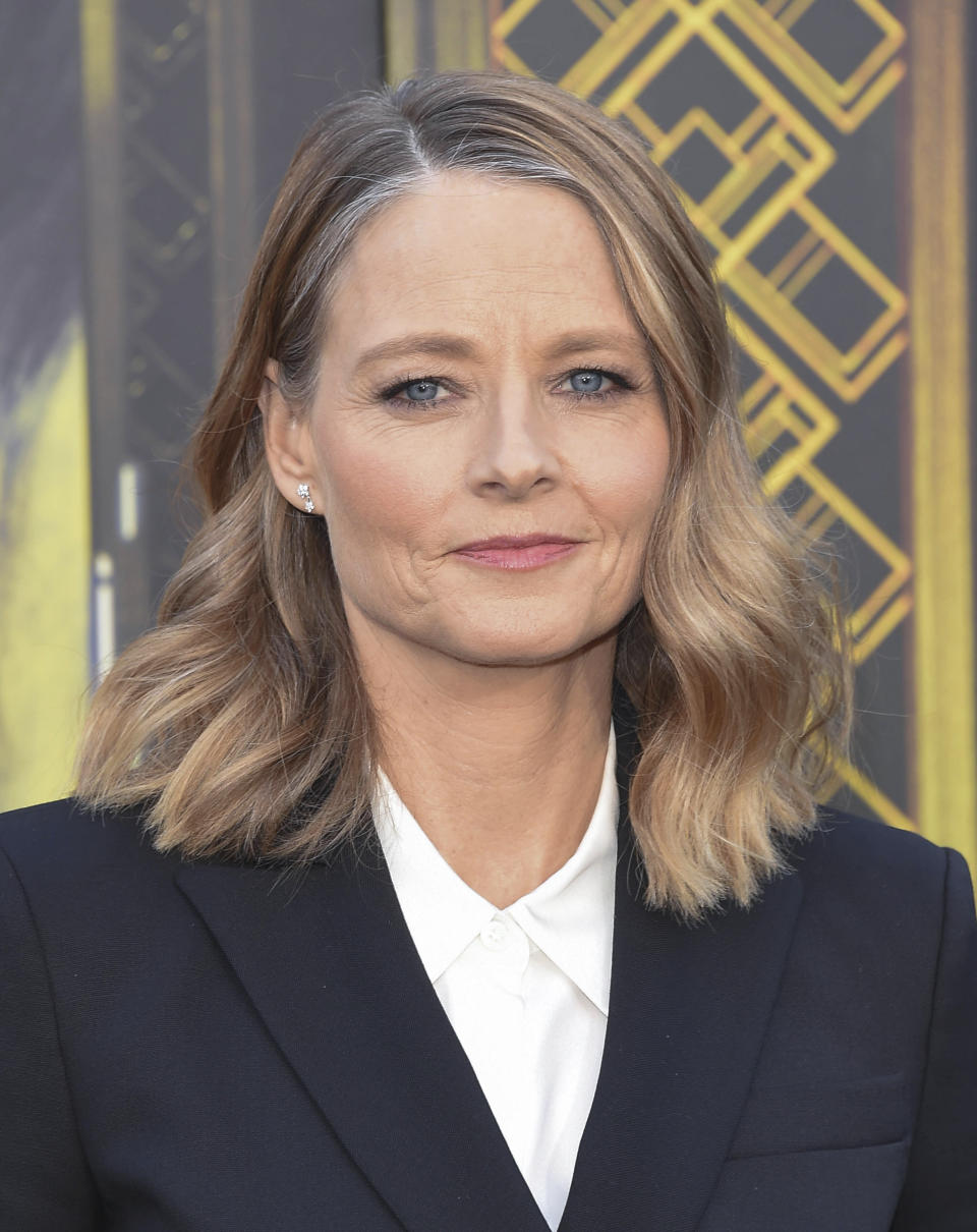 FEBRUARY 28th 2021: 78th Golden Globe Awards Winners - Jodie Foster wins the award for Best Supporting Actress in a Motion Picture for