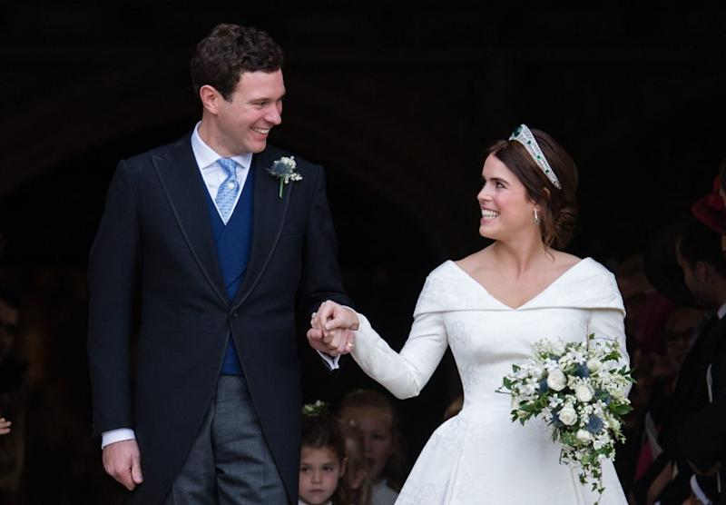 Official Wedding Photos.Princess Eugenie S Official Wedding Portraits Are Here And
