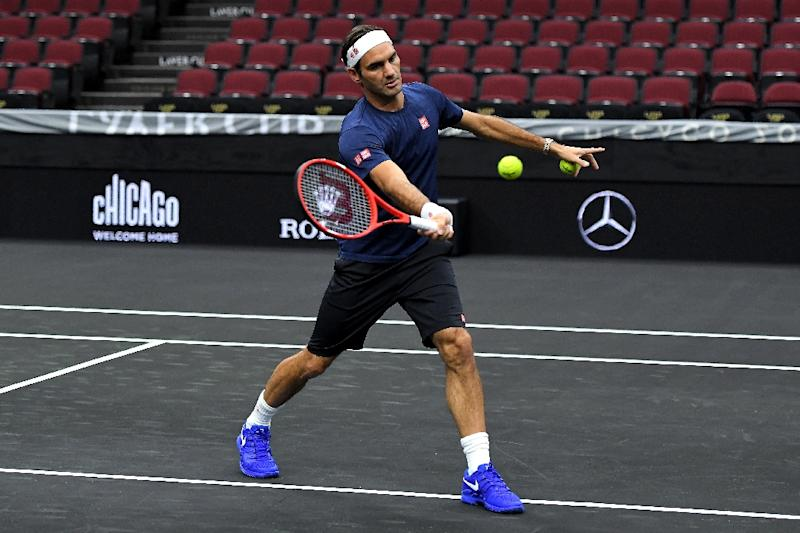 Federer, Zverev put Europe on top at Laver Cup