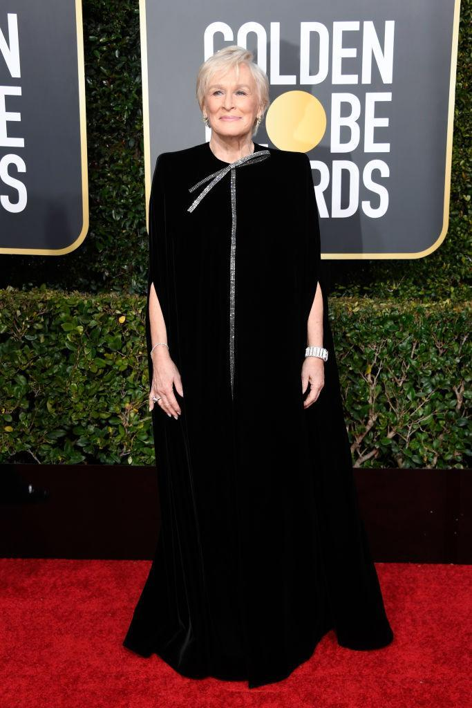 <p>Glenn Close attends the 76th Annual Golden Globe Awards at the Beverly Hilton Hotel in Beverly Hills, Calif., on Jan. 6, 2019. (Photo: Getty Images) </p>