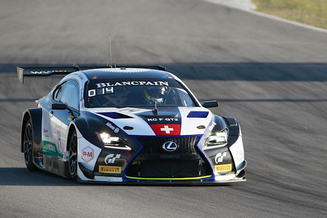 Panis Barthez expands into GT racing with Lexus