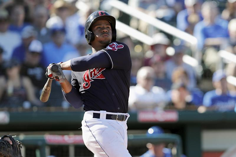 Top catching prospect Francisco Mejia hopes to show the Indians what he's got during September. (Getty Images)