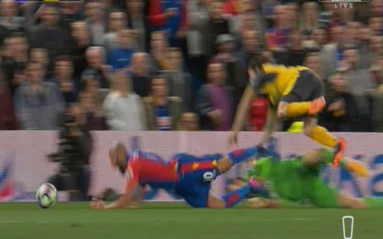 Townsend fouled - Credit: Sky Sports