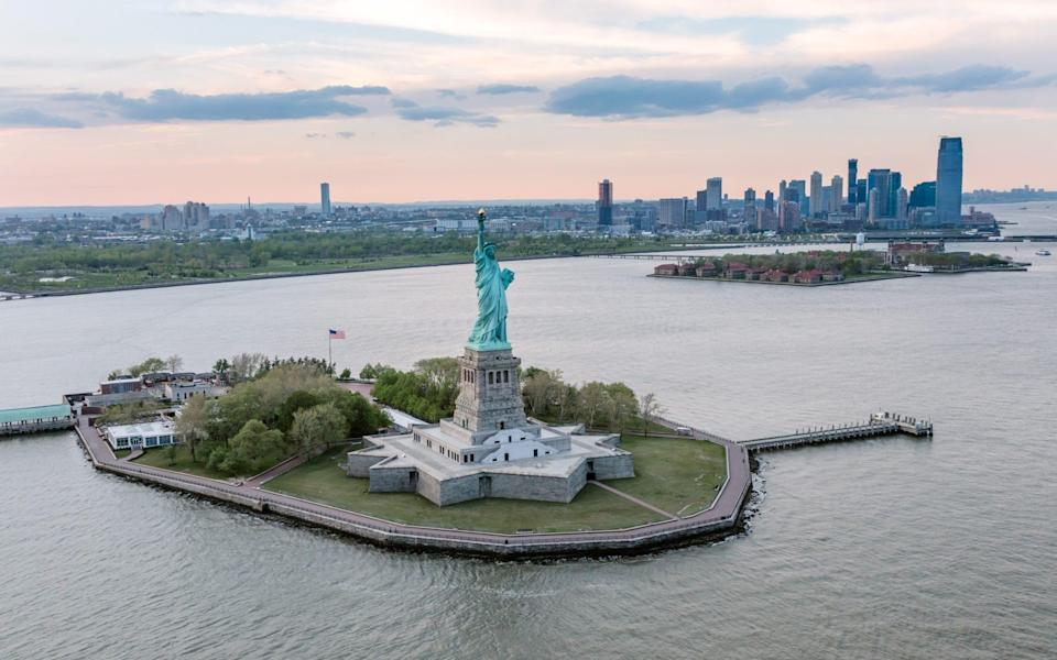 More than four million people visited the statue in 2019 - Moment RF