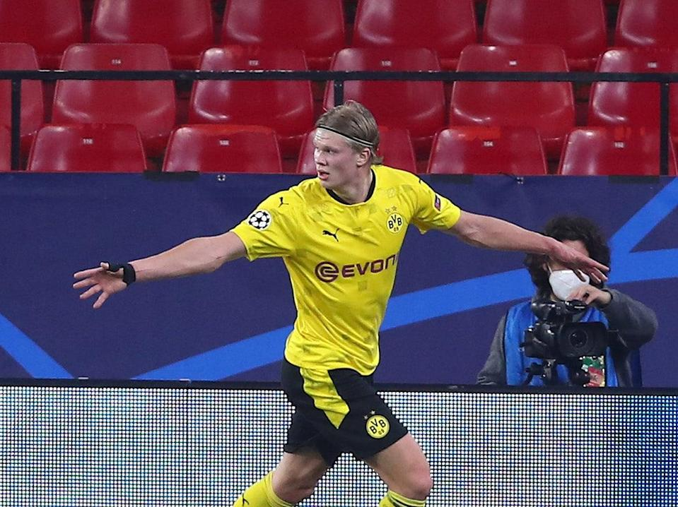 Erling Haaland was man of the match as Dortmund beat Sevilla (Getty Images)