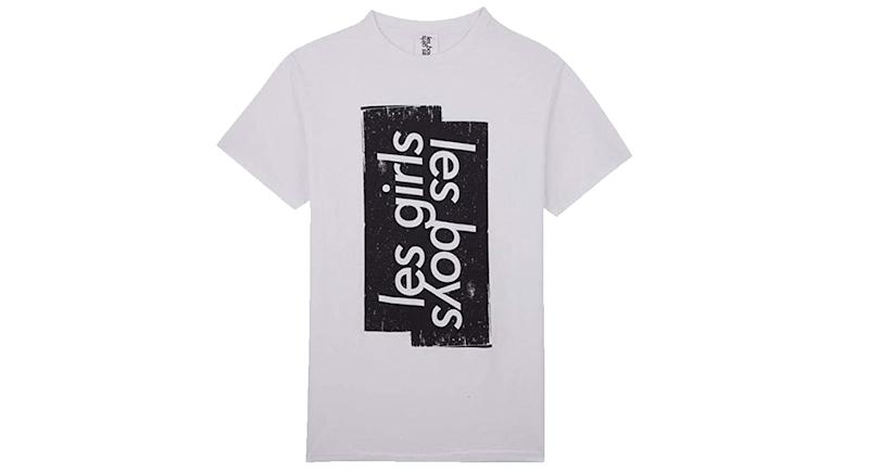 les girls les boys Men Roller Logo t-Shirt