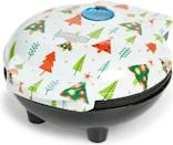 <p>Breakfast, anyone? Decked out with tiny trees, this <span>Dash Mini Waffle Maker</span> ($20) is bound to make your mornings more joyful.</p>