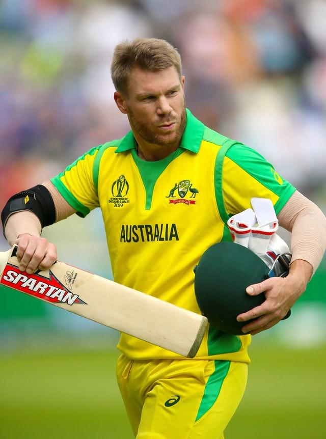 David Warner hit three fours and one six in his 34 for the Finch XI in Australia's second intra-squad match