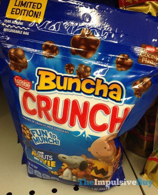 <p>And the trend of shrinking down candy bars to tiny treats continued! Uber-popular Crunch bars got even more buzz-worthy when these crispy clusters were released—originally in movie theaters only!—and they became a go-to treat that always disappeared before the trailers were through.</p>