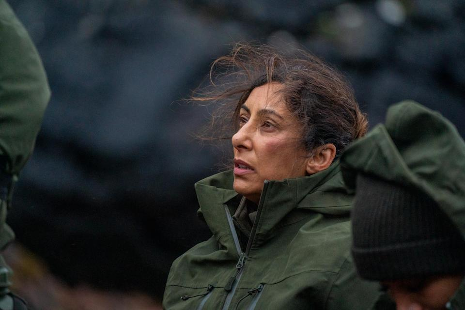 Saira Khan stars in the new series of 'Celebrity SAS: Who Dares Wins'. (Channel 4)