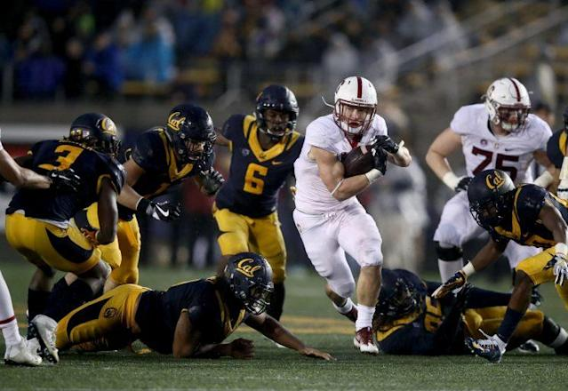 Christian McCaffrey announced he will skip Stanford's bowl game to concentrate on the NFL draft. (Getty Images)